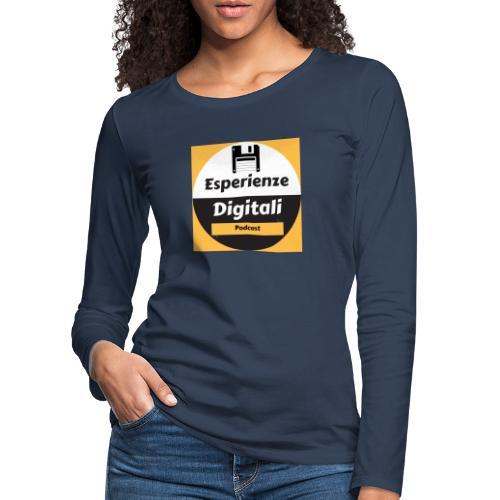Logo Esperienze Digitali - Maglietta Premium a manica lunga da donna