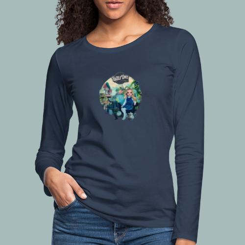 Letting Go Merch - Vrouwen Premium shirt met lange mouwen
