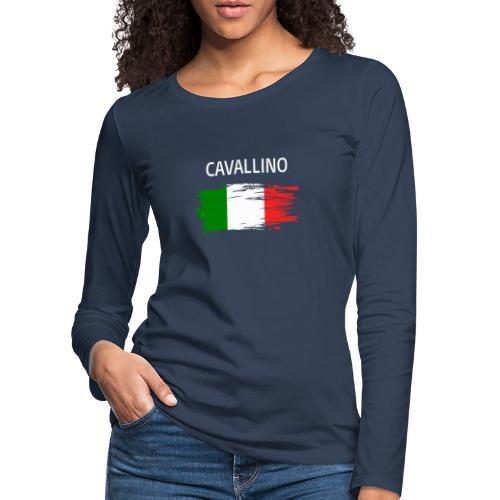 Cavallino Fanprodukte - Frauen Premium Langarmshirt
