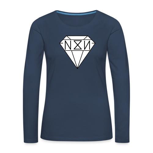 N8N - Vrouwen Premium shirt met lange mouwen