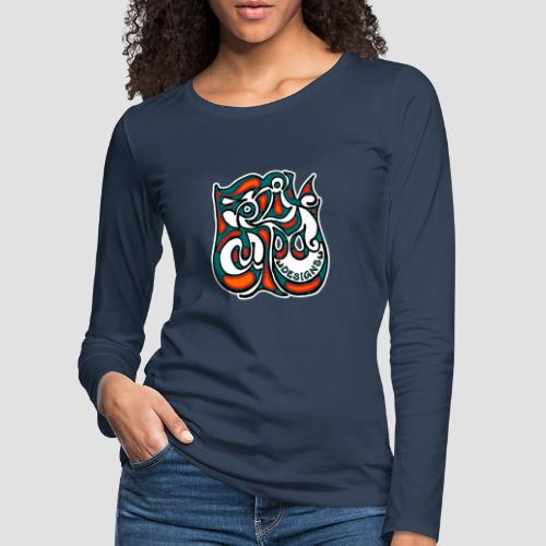 Felix Culpa Designs square logo - Women's Premium Longsleeve Shirt