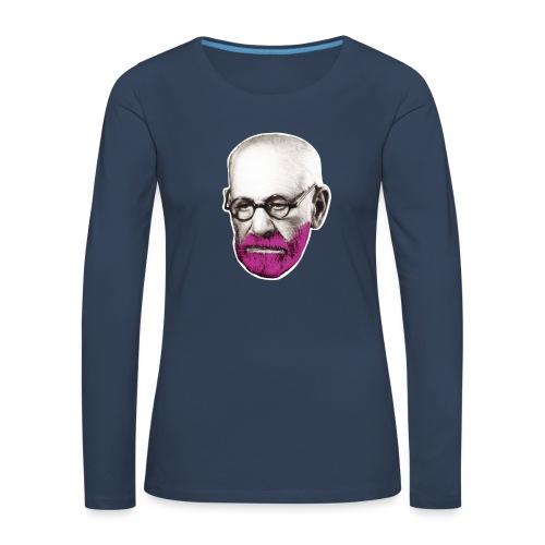 Pink Freud - Women's Premium Longsleeve Shirt
