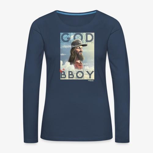 bboy - Camiseta de manga larga premium mujer