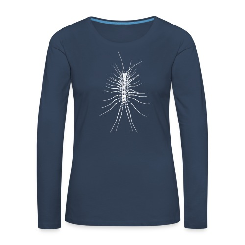 Scutigère - T-shirt manches longues Premium Femme