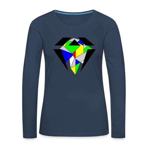 J.O.B. Diamant Colour - Frauen Premium Langarmshirt