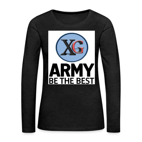 xg t shirt jpg - Women's Premium Longsleeve Shirt