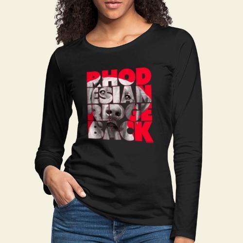NASSU Rhode 3 - Naisten premium pitkähihainen t-paita