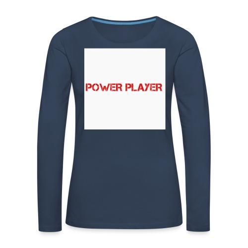 Linea power player - Maglietta Premium a manica lunga da donna