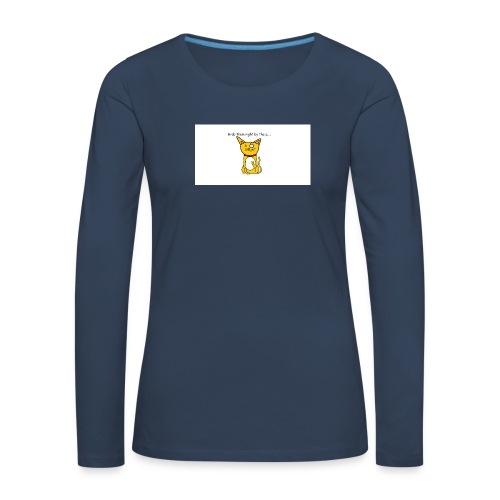 Grab them right by the p - Women's Premium Longsleeve Shirt