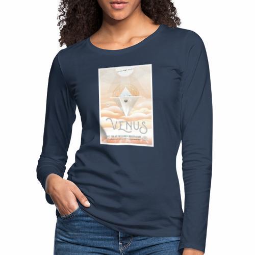 Planète Vénus - T-shirt manches longues Premium Femme