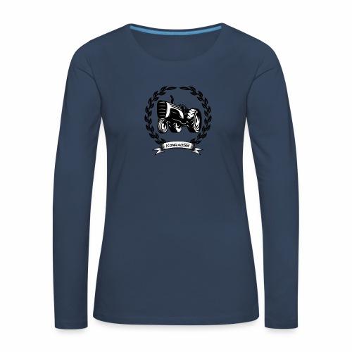 KonradSB - Koszulka damska Premium z długim rękawem