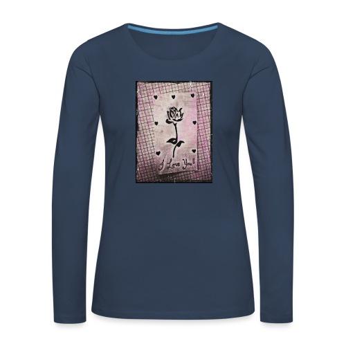 Love Blossom - Women's Premium Longsleeve Shirt