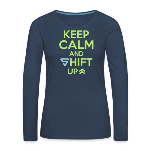 Shift UP ! - T-shirt manches longues Premium Femme