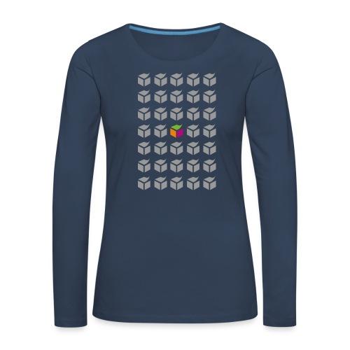 grid semantic web - Women's Premium Longsleeve Shirt