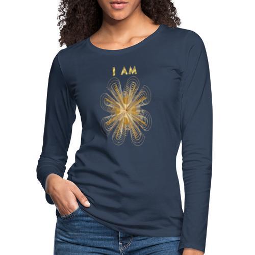 I AM - Maglietta Premium a manica lunga da donna