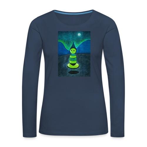 Humanoid - Naisten premium pitkähihainen t-paita