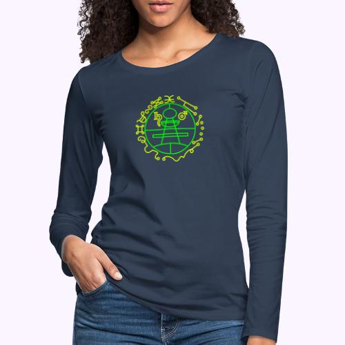 Solomons Key - Naisten premium pitkähihainen t-paita