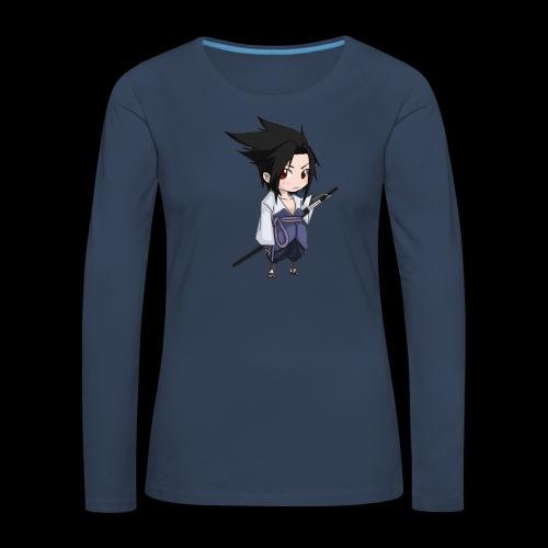 Sasuke - T-shirt manches longues Premium Femme