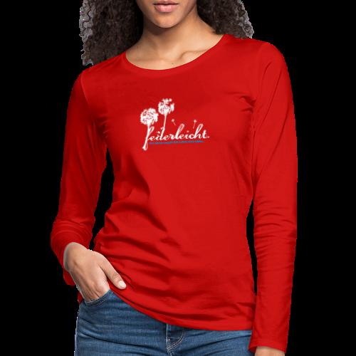 geweihbär Federleicht - Frauen Premium Langarmshirt