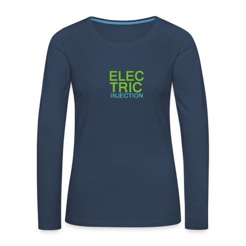 ELECTRIC INJECTION basic - Frauen Premium Langarmshirt