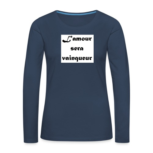 la belle au bois dormant - T-shirt manches longues Premium Femme