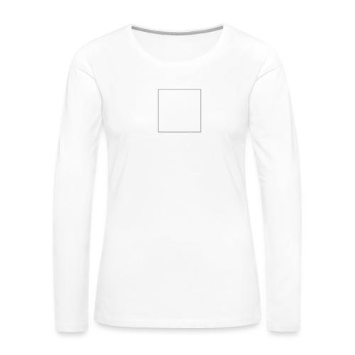 Square t shirt - Vrouwen Premium shirt met lange mouwen
