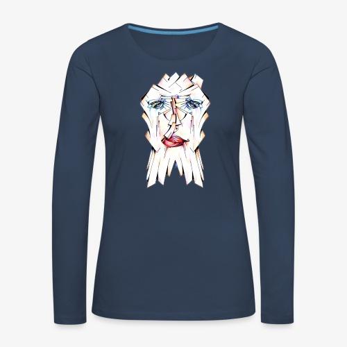 Pokerface - Women's Premium Longsleeve Shirt