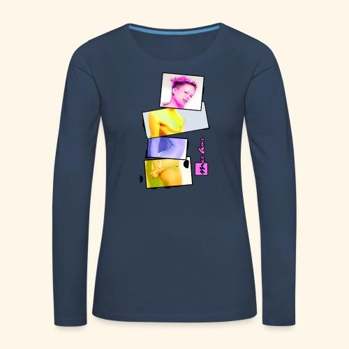 Untitled 3 explose - T-shirt manches longues Premium Femme