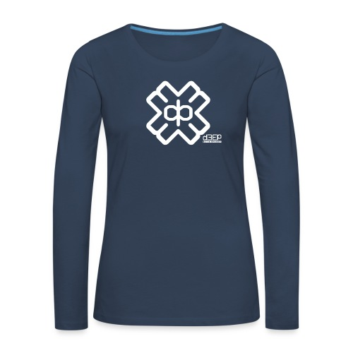 July D3EP Blue Tee - Women's Premium Longsleeve Shirt