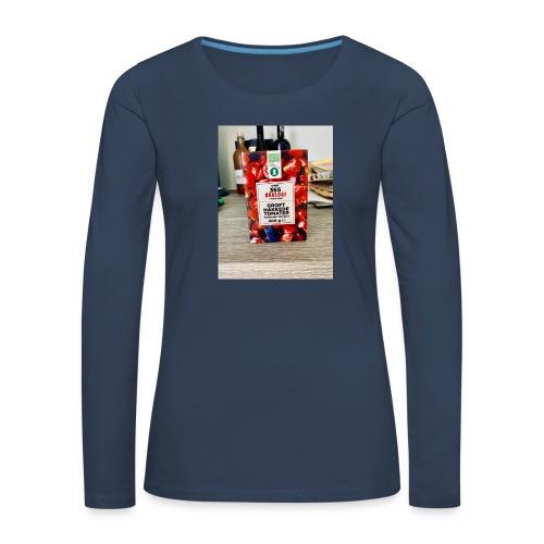 Tomato - Dame premium T-shirt med lange ærmer