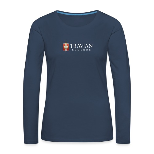 Travian Legends Logo 2 - Women's Premium Longsleeve Shirt