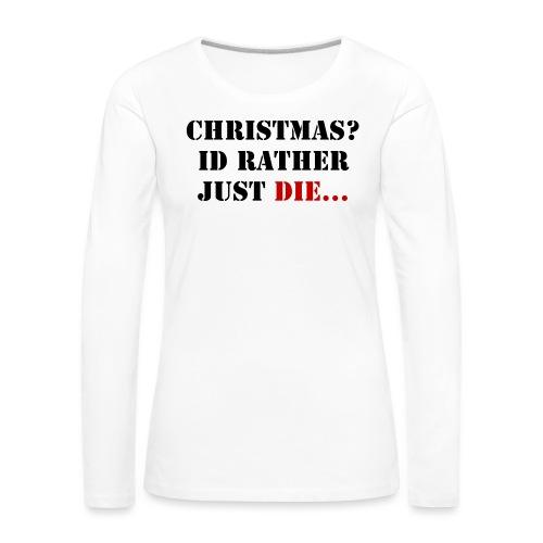 Christmas joy - Women's Premium Longsleeve Shirt