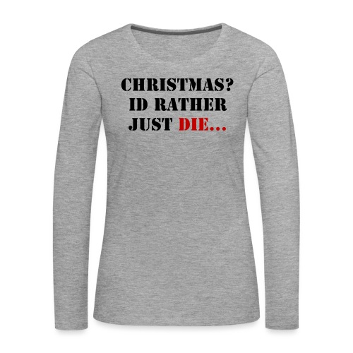 Christmas joy - Women's Premium Longsleeve Shirt