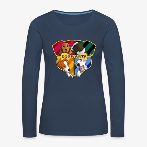 Dogwarts Logo - Women's Premium Longsleeve Shirt