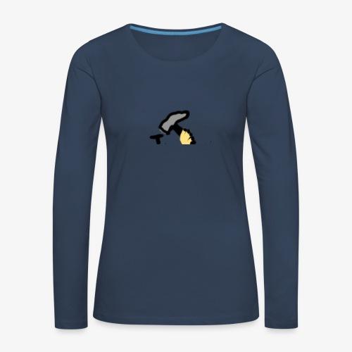 Mateba - Dame premium T-shirt med lange ærmer