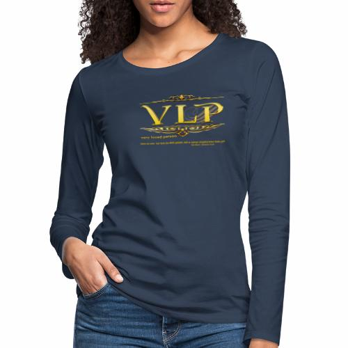 very loved person - Frauen Premium Langarmshirt