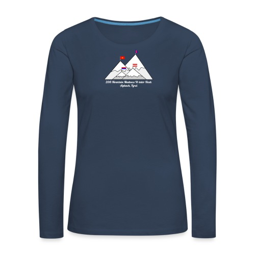 2018 W inter hash logo - Women's Premium Longsleeve Shirt