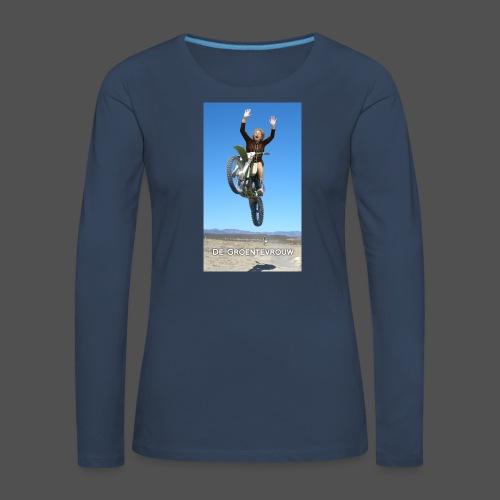 Stuntvrouw (v) - Vrouwen Premium shirt met lange mouwen