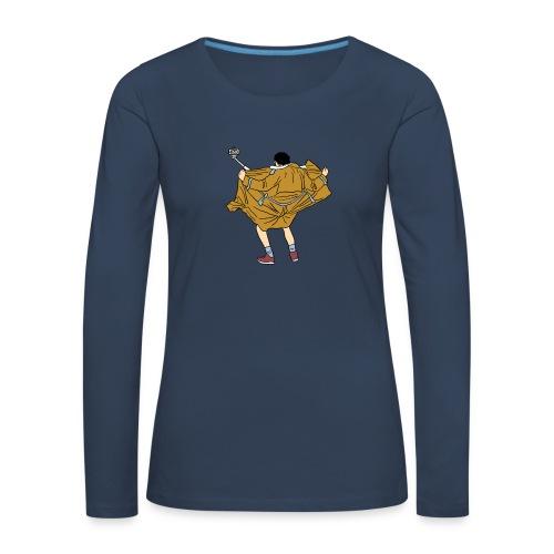 Funny man - Women's Premium Longsleeve Shirt