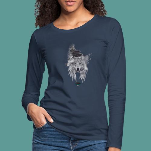 Mutagene Tattoo Pow Wow - T-shirt manches longues Premium Femme