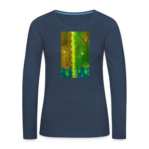 TORNI - Naisten premium pitkähihainen t-paita