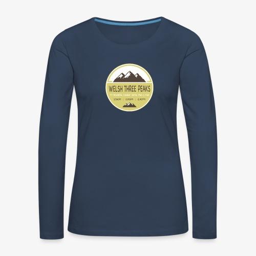 Welsh Three Peaks - Women's Premium Longsleeve Shirt