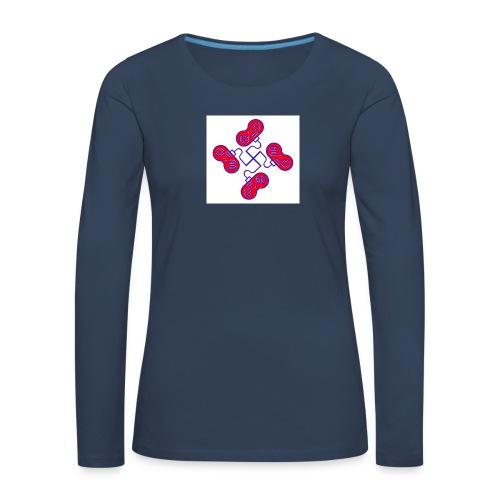 unkeon dunkeon - Naisten premium pitkähihainen t-paita