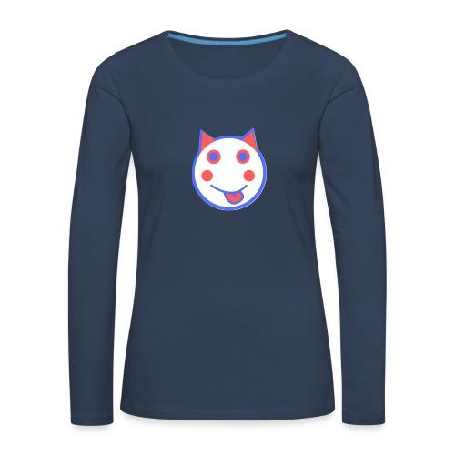 Red White And Blue - Alf Da Cat - Women's Premium Longsleeve Shirt
