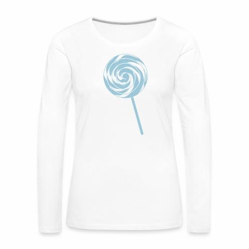 Retro Lolly - Frauen Premium Langarmshirt