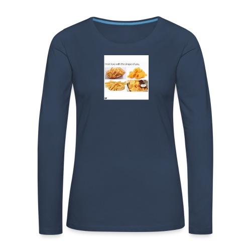 Shape - Frauen Premium Langarmshirt