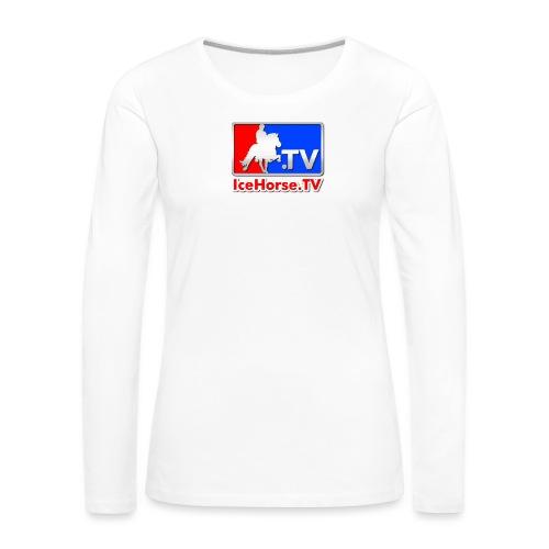 IceHorse logo - Women's Premium Longsleeve Shirt