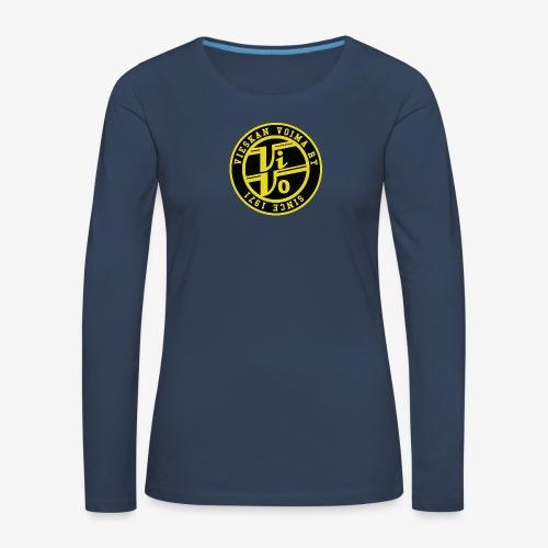 ViVo Since 1971 - Naisten premium pitkähihainen t-paita