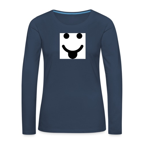 smlydesign jpg - Vrouwen Premium shirt met lange mouwen