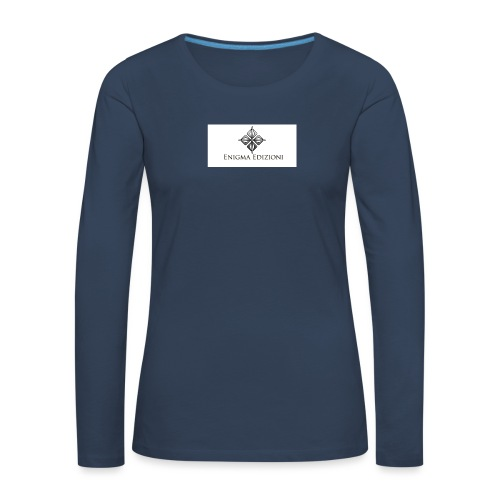 enigma - Maglietta Premium a manica lunga da donna